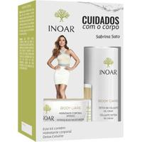 Kit Inoar Body Care Cuidado Diário 1 Hidratante 180G + 1 Gel Creme 230Ml - Unissex-Incolor