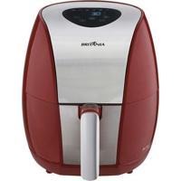 Fritadeira Air Fry Digital Britânia Bfr03Vi Vermelho 1500W 127V