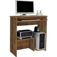 Escrivaninha/Mesa Para Computador Iris Jcm Movelaria Cor:Nobre Soft