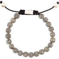 Nialaya Jewelry Pulseira Em Prata De Lei - Cinza