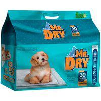 Tapete Higiênico Para Cães Mr Dry Com 30 Unidades