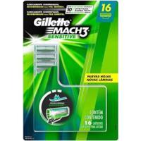 Carga Para Aparelho De Barbear Gillette - Unissex-Incolor