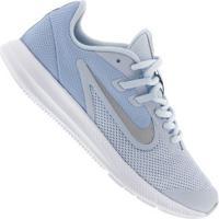 Tênis Nike Downshifter 9 Gs - Infantil - Azul Cla/Cinza Cla