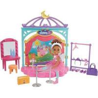 Boneca Barbie Chelsea Aulas De Ballet Com Acessórios - Feminino-Colorido