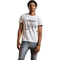 Camiseta Joss Premium Crossfi - Masculino-Branco