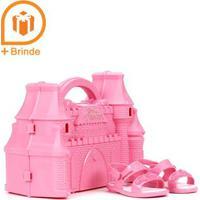 Sandália Infantil Para Bebê Menina - Rosa