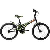 Bicicleta Infantil Groove Camuflada Aro 20 - Unissex