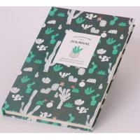 Caderno Cactos Verde