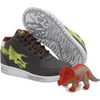Tênis Vissi Dino Fossil Triceraptor Masculino + Brinde - Masculino