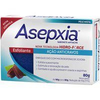 Sabonete Facial Em Barra Asepxia Esfoliante Antiacne Com 80G 80G