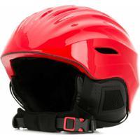 Perfect Moment Mountain Mission Bear Helmet - Vermelho