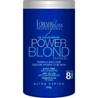 Pó Descolorante Blond Platinum 450G Forever Liss - Feminino-Incolor