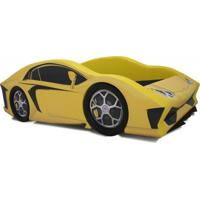 Cama Carro Aventador Amarela