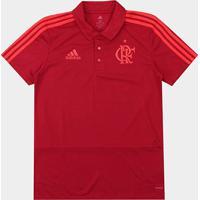 Camisa Polo Flamengo Adidas Viagem Masculina - Masculino