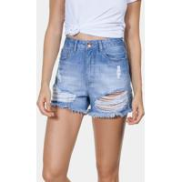 Shorts Jeans Califórnia Hot Pant Jeans - Lez A Lez