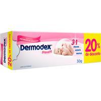 Dermodex Prevent Creme 20% De Desconto 1 Unidade De 30G