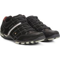 c1d4083929 Netshoes  Sapatênis Couro West Coast Spark Masculino - Masculino-Preto