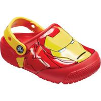 Crocs Funlab Ironmanâ® Lights Clog - Vermelho & Amarelocrocs