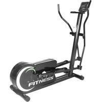 Aparelho Elíptico Profissional Academia Promoção Fitness - Unissex-Preto