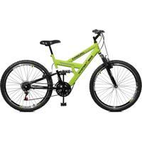 Bicicleta Master Bike Aro 26 Masculina Kanguru Style 21 Marchas A-36 Verde