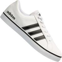 Tênis Adidas Neo Vs Pace - Masculino - Branco/Preto
