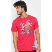 Camisa Mitchell & Ness Drive To The Basket Chigaco Bulls Masculina - Masculino