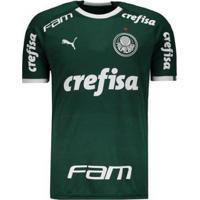 Camisa Puma Palmeiras I 2019 Com Patrocínio Masculina - Masculino