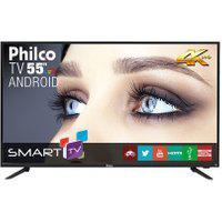 """Tv Philco Led Android 4K 55"""" Ph55A17Dsgwa Bivolt"""