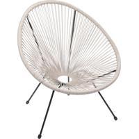 Cadeira Acapulco- Fendi & Preta- 85X74X48Cm- Or Or Design