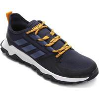 Tênis Adidas Kanadia Trail Masculino - Masculino-Marinho