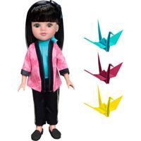 Boneca Meu Mundo Akemi Tokyo 37Cm - Estrela