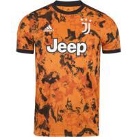 Camisa Juventus Iii 20/21 Adidas - Masculina - Laranja