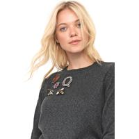 Suéter Only Tricot Pullover Verde