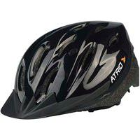 Capacete Para Ciclismo Mtb Alças Ajustáveis E 19 Entradas De Ar Preto Atrio Tam. G - Bi003