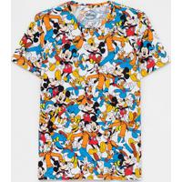 Camiseta Estampa Turma Do Mickey