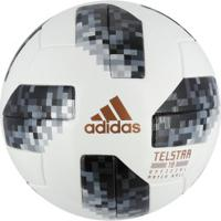 Bola De Futebol De Campo Telstar Oficial Copa Do Mundo Fifa 2018 Adidas Omb  - Branco 60a104873ddea