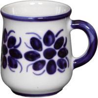 Caneca Feita E Pintada A Mão Porcelana Monte Sião 238