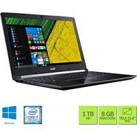 Notebook Acer A515-51G-72Db Intel Core I7 8Gb Ram 1Tb Hd Nvidia Geforce 2Gb 15.6 Windows 10