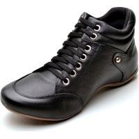 Bota Clube Do Sapato De Franca Top Sport Confort Preta