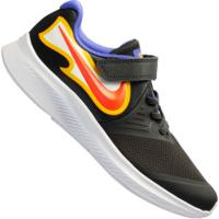 Tênis Nike Star Runner 2 Fire Ps - Infantil - Cinza Escuro/Amarelo