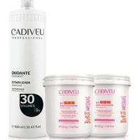 Cadiveu Buriti Mechas Pó Descolorantes 2Uni + Oxidante 30 V - Feminino-Incolor