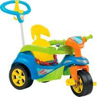 Triciclo Baby Trike Evolution Pedal C/ Emp. Azul Biemme