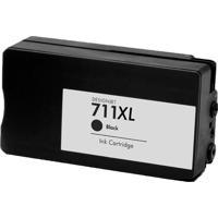 Cartucho De Tinta Para Hp 711 | T120 | T520 Preto 80Ml - Greenbelt