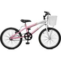 Bicicleta Master Bike Aro 20 Feminina Serena Rosa