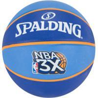 Bola De Basquete Spalding Nba 3X - Azul/Azul Esc