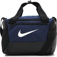 Bolsa Nike Brsla Xs Duff - 9.0 Azul-Marinho/Preta