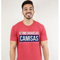 Camiseta Zé Carretilha For Tricolor Daquelas Camisas Masculina - Masculino