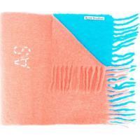 Acne Studios Cachecol 'Kelow Dye' - Laranja