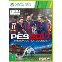 Jogo Pro Evolution Soccer 2017 Xbox 360 - Unissex
