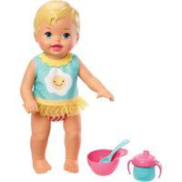 Boneca Bebê - Little Mommy - Momentos Do Bebê - Café Da Manhã - Mattel